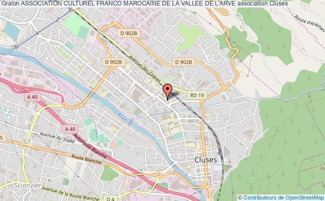 plan association Association Culturel Franco Marocaine De La Vallee De L'arve