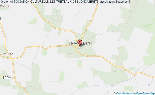 plan association Association Culturelle 'les Treteaux Des Jonquerets'