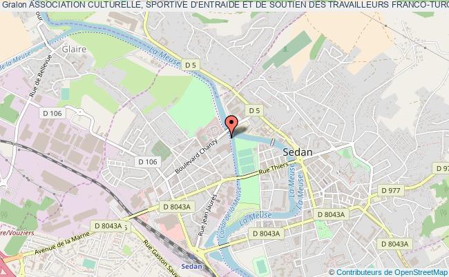 plan association Association Culturelle, Sportive D'entraide Et De Soutien Des Travailleurs Franco-turc