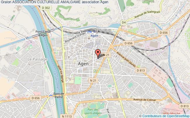 plan association Association Culturelle Amalgame