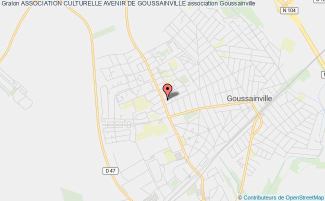plan association Association Culturelle Avenir De Goussainville Goussainville