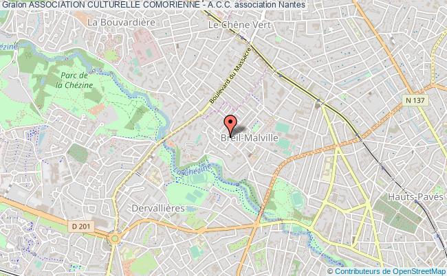 plan association Association Culturelle Comorienne - A.c.c.