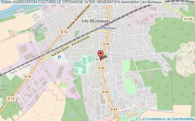 plan association Association Culturelle D'echange Inter Generation Les   Mureaux