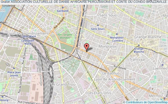 plan association Association Culturelle De Danse Africaine Percussions Et Conte Du Congo Brazzaville