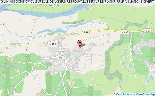plan association Association Culturelle De Loisirs Retrouvailles Pour Le Plaisir Rplp Animations Divertissements