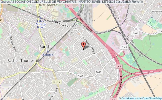 plan association Association Culturelle De Psychiatrie Infanto-juvenile 59io5 Ronchin