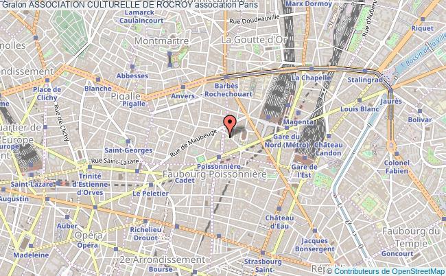 plan association Association Culturelle De Rocroy