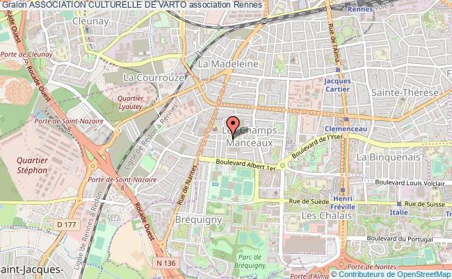 plan association Association Culturelle De Varto Rennes