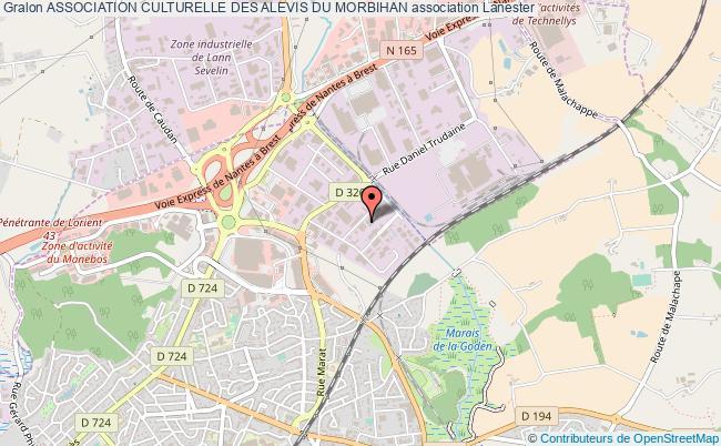 plan association Association Culturelle Des Alevis Du Morbihan
