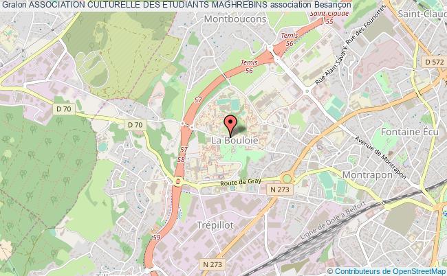 plan association Association Culturelle Des Etudiants Maghrebins