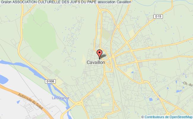 plan association Association Culturelle Des Juifs Du Pape
