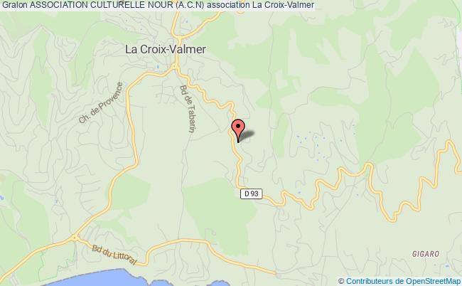 plan association Association Culturelle Des Musulmans De La Croix Valmer (a.c.d.m.c.v)