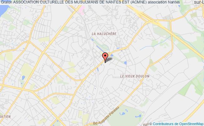 plan association Association Culturelle Des Musulmans De Nantes Est (acmne)