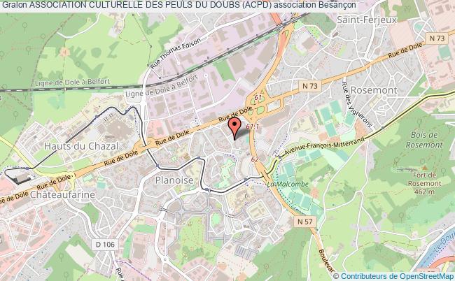 plan association Association Culturelle Des Peuls Du Doubs (acpd)