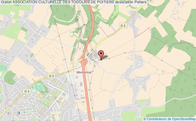 plan association Association Culturelle Des Togolais De Poitiers