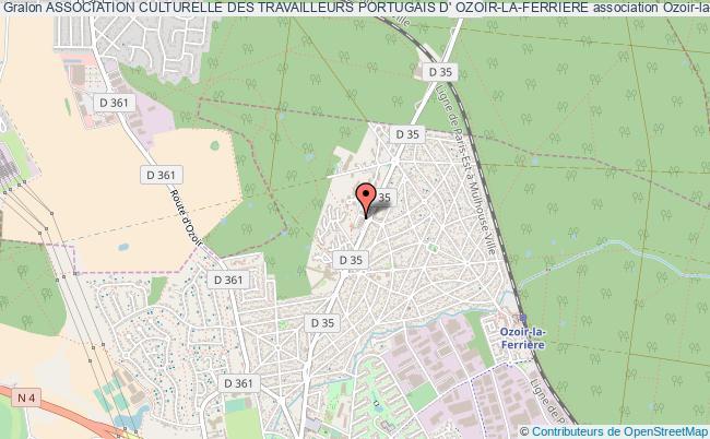 plan association Association Culturelle Des Travailleurs Portugais D' Ozoir-la-ferriere Ozoir-la-Ferrière