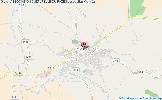 plan association Association Culturelle Du Razes