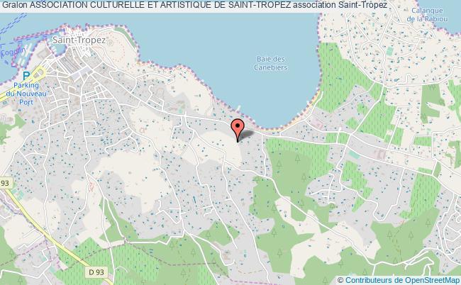 plan association Association Culturelle Et Artistique De Saint-tropez
