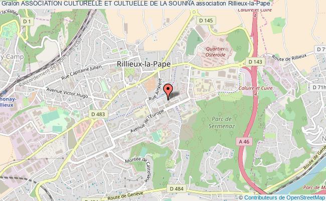 plan association Association Culturelle Et Cultuelle De La Sounna