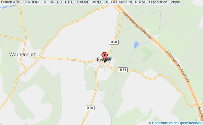 plan association Association Culturelle Et De Sauvegarde Du Patrimoine Rural