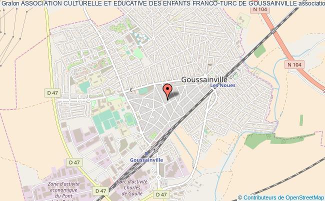 plan association Association Culturelle Et Educative Des Enfants Franco-turc De Goussainville Goussainville