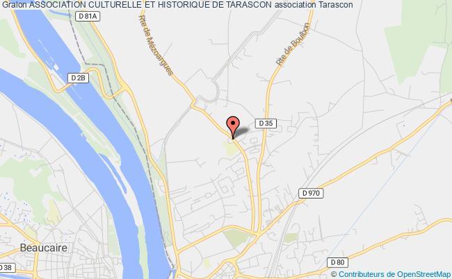 plan association Association Culturelle Et Historique De Tarascon