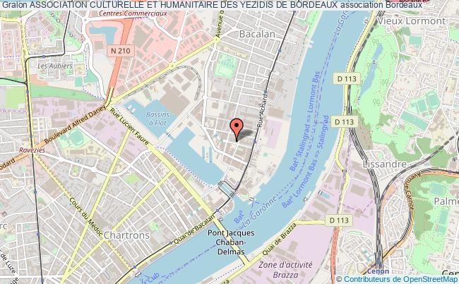 plan association Association Culturelle Et Humanitaire Des Yezidis De Bordeaux