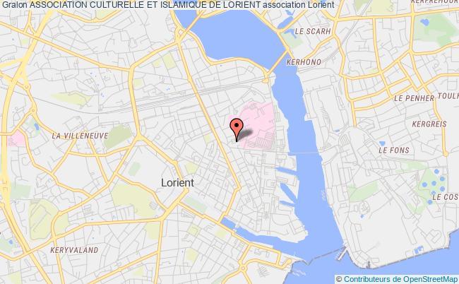 plan association Association Culturelle Et Islamique De Lorient