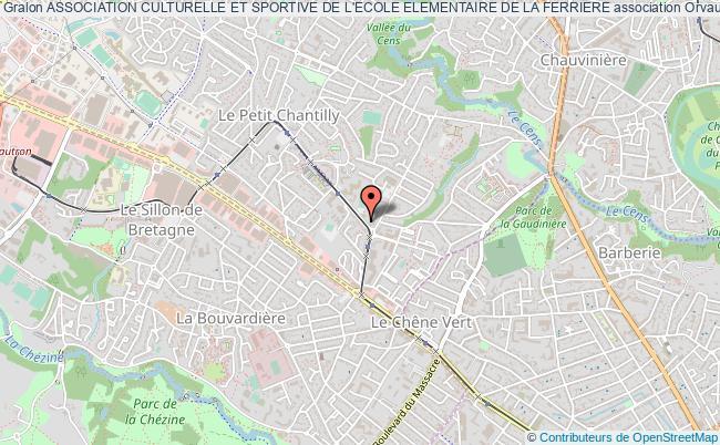 plan association Association Culturelle Et Sportive De L'ecole Elementaire De La Ferriere