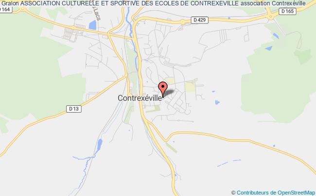 plan association Association Culturelle Et Sportive Des Ecoles De Contrexeville Contrexéville