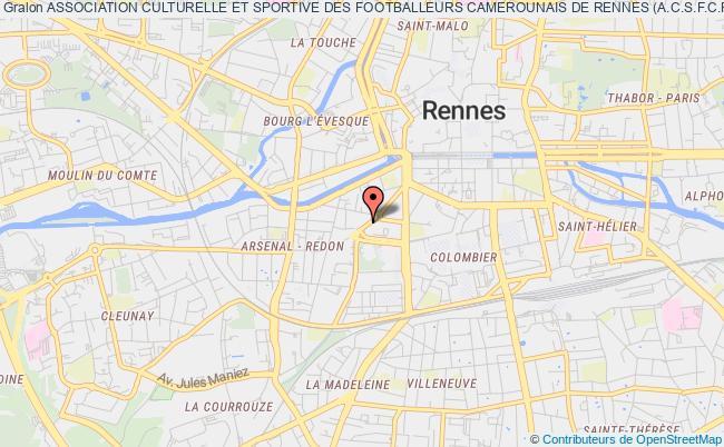 plan association Association Culturelle Et Sportive Des Footballeurs Camerounais De Rennes (a.c.s.f.c.r.)