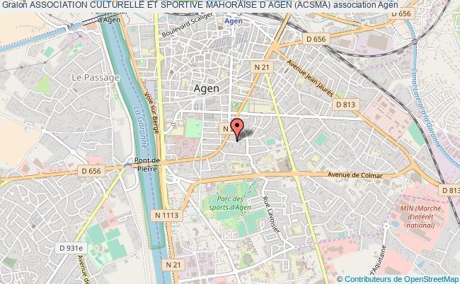 plan association Association Culturelle Et Sportive Mahoraise D Agen (acsma)
