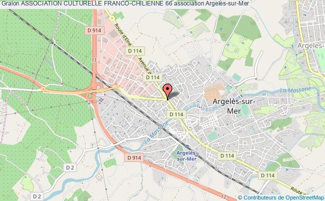 plan association Association Culturelle Franco-chilienne 66