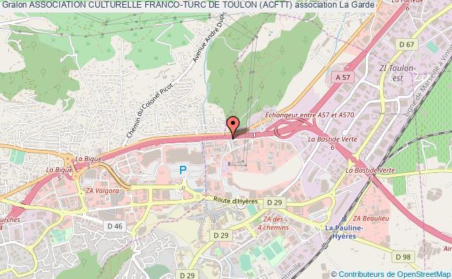 plan association Association Culturelle Franco-turc De Toulon (acftt)