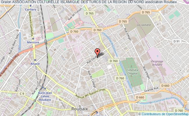 plan association Association Culturelle Islamique Des Turcs De La Region Du Nord