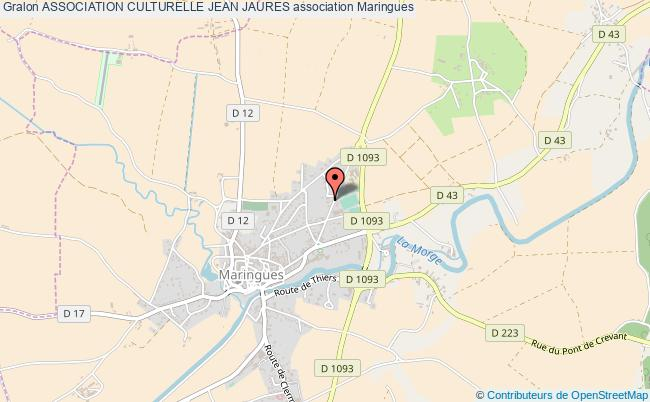 plan association Association Culturelle Jean Jaures
