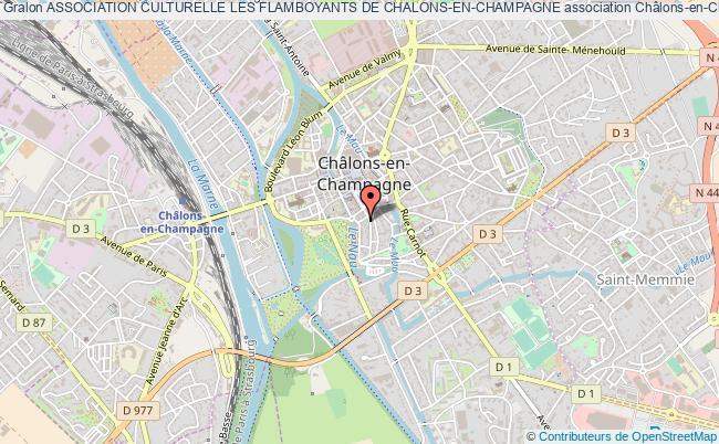 plan association Association Culturelle Les Flamboyants De Chalons-en-champagne