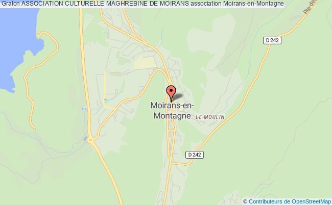 plan association Association Culturelle Maghrebine De Moirans