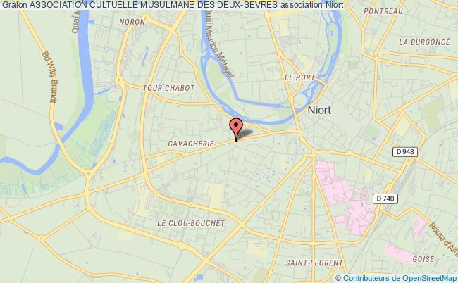 plan association Association Culturelle Musulmane Des Deux-sevres (acmds)