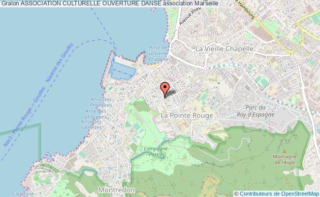 plan association Association Culturelle Ouverture Danse