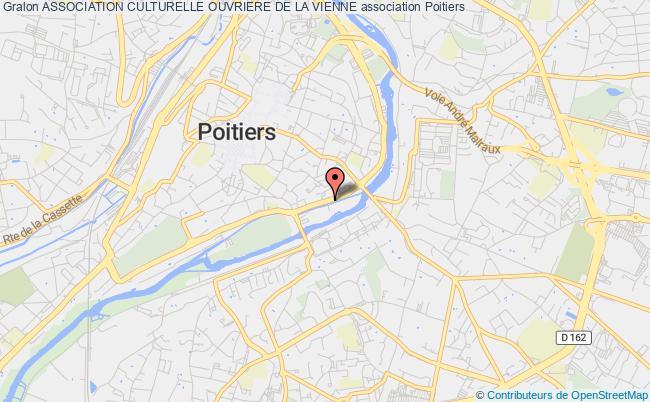 plan association Association Culturelle Ouvriere De La Vienne