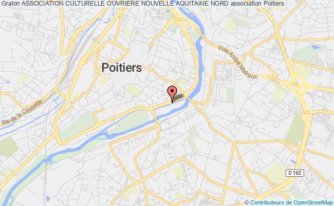plan association Association Culturelle Ouvriere Nouvelle Aquitaine Nord