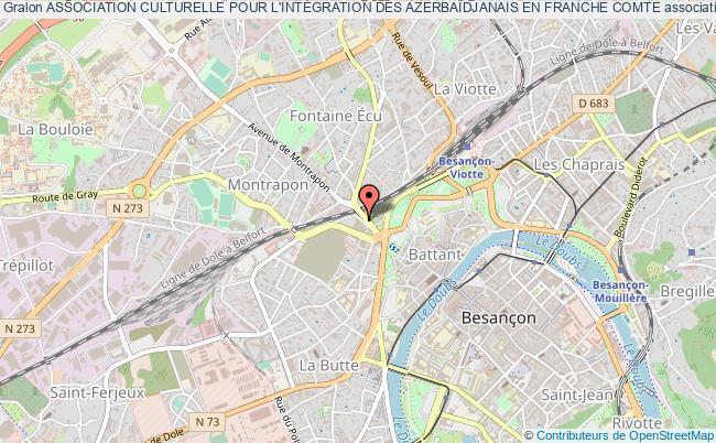 plan association Association Culturelle Pour L'intÉgration Des AzerbaÏdjanais En Franche Comte