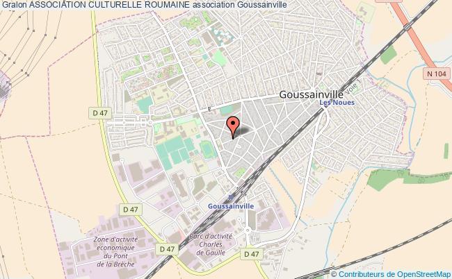 plan association Association Culturelle Roumaine Goussainville