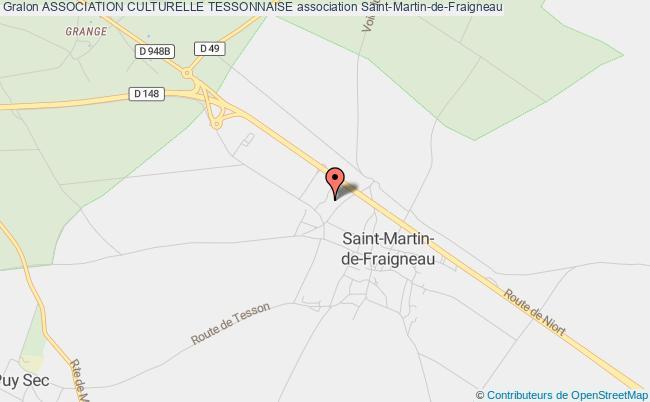 plan association Association Culturelle Tessonnaise Saint-Martin-de-Fraigneau