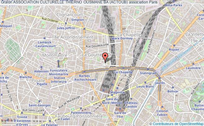 plan association Association Culturelle Thierno Ousmane Ba (actoub)