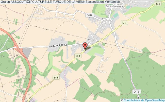 plan association Association Culturelle Turque De La Vienne