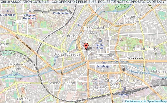 plan association Association Cutuelle - Congregation Religieuse 'ecclesia Gnostica Apostolica De Saint Jacques'