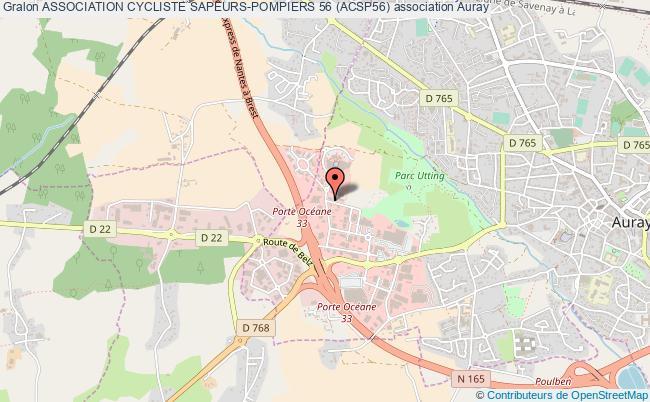 plan association Association Cycliste Sapeurs-pompiers 56 (acsp56)