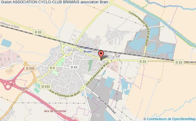plan association Association Cyclo-club Bramais